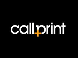 Callprint Logo | Logo Designers Surrey | Thunderbolt Digital