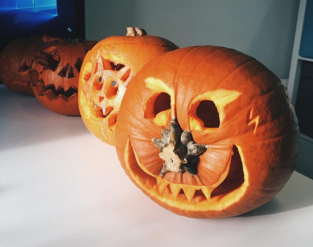 Pumpkin carving | Media Agency Surrey