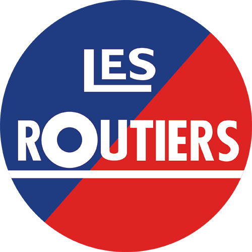 The updated Les Routiers logo