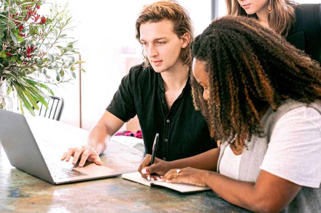 people working. digital marketing agency in surrey